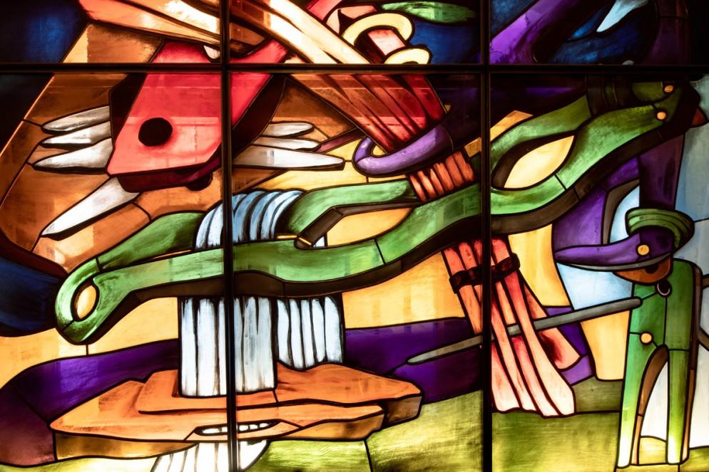 LA RESERVE EDEN AU LAC_ZURICH_2020_Stained-glass_03_©GREGOIRE GARDETTE