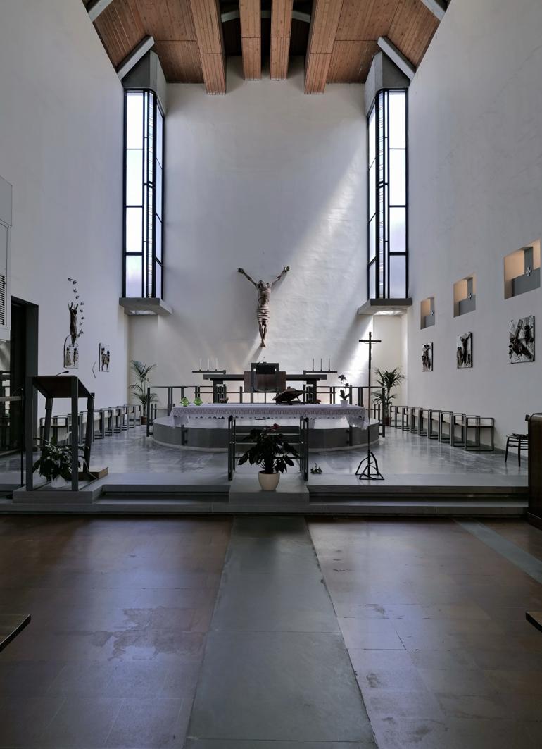 chiesa-carlo-scarpa-firenzuola- 06_Interno_┬®SABAP