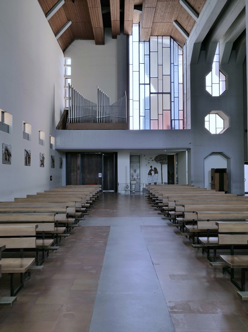 La chiesa di Firenzuola di Carlo Scarpa è un bene culturale