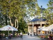 Teahouse in Weissenburgpark - restaurant