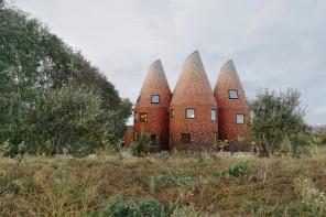 La casa che reinterpreta le architetture tipiche del Kent