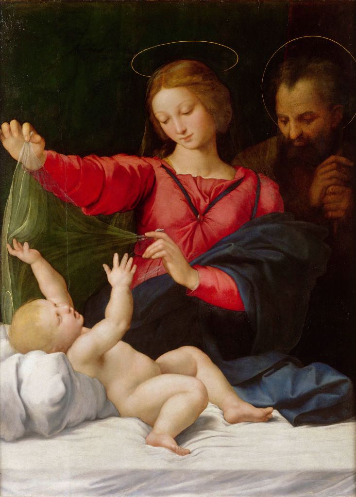 Madonna of Loreto, c.1508. Artist: Raphael (1483-1520)