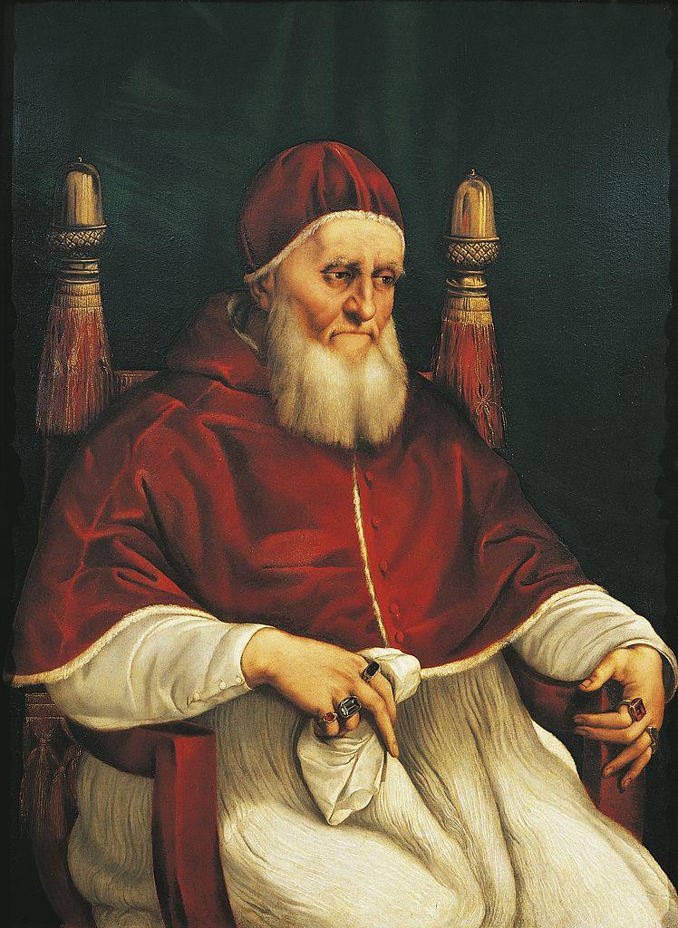Portrait of Pope Julius II, 1443-1513