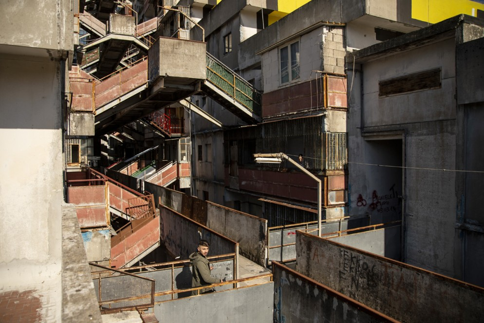 Demolition Of Crime Ridden Vele Of Scampia Housing Project