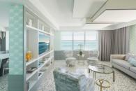 Metropolitan Miami - Accommodation - COMO Suite living room
