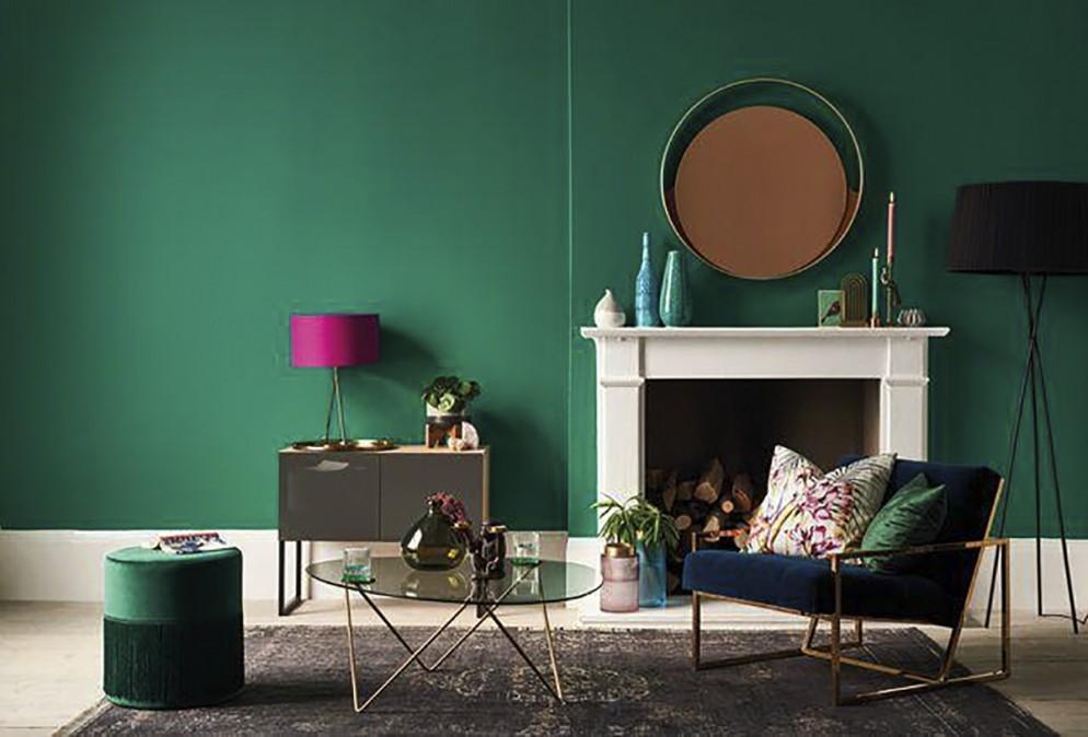 parete-verde-soggiorno-4. via dulux_