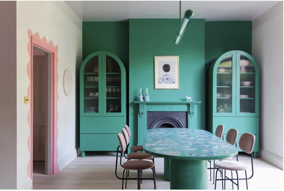 parete-verde-soggiorno-6. ph. Megan Taylor