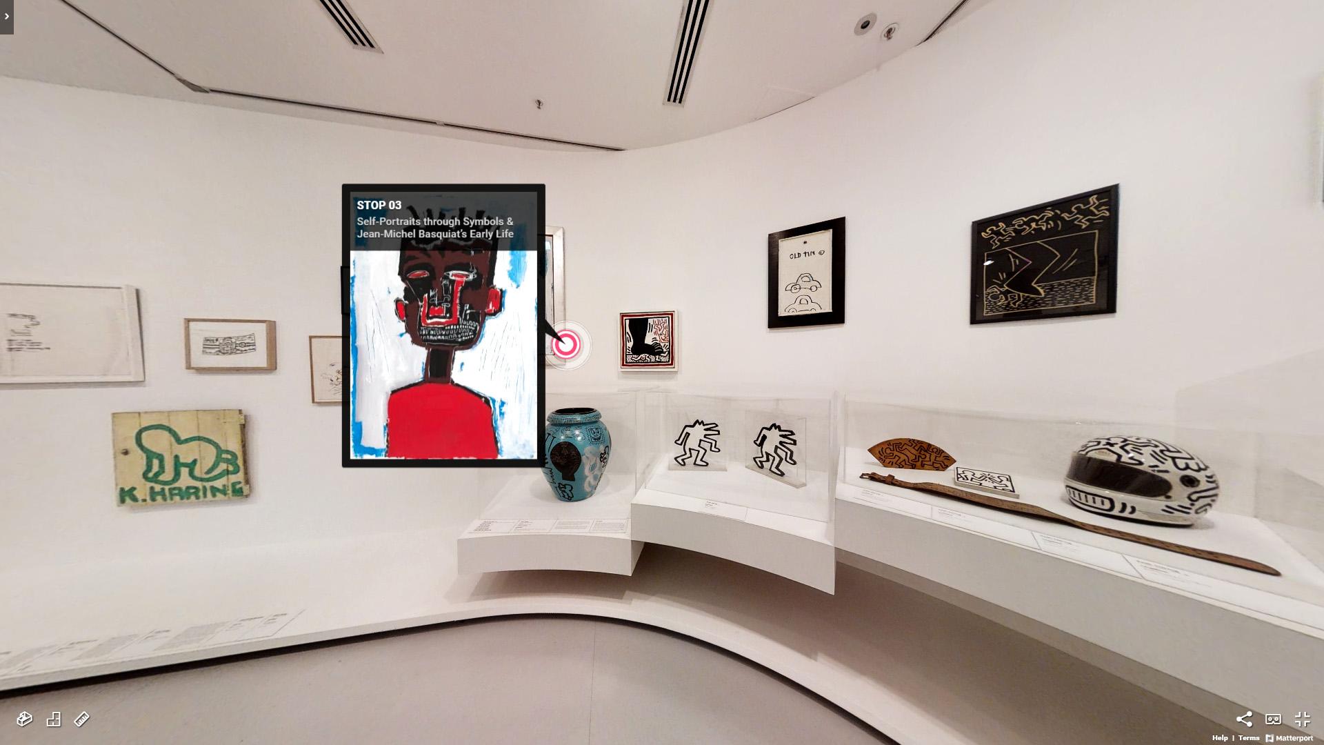 La mostra di Haring e Basquiat da vedere online