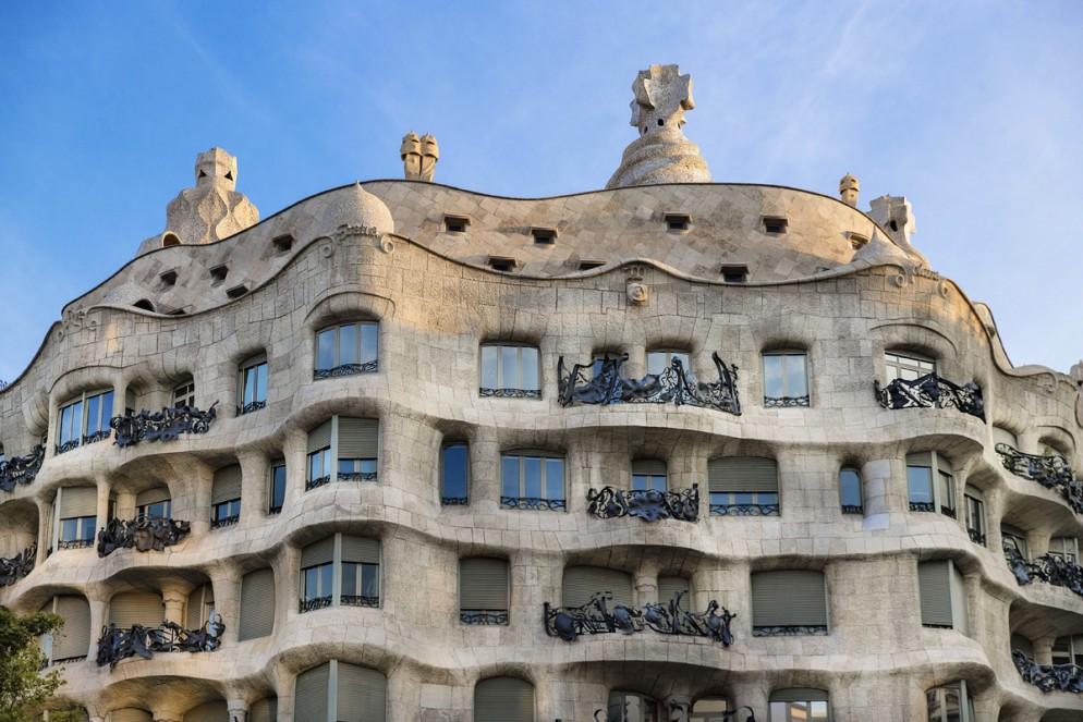 La Pedrera, Casa Milà house designed by Antonio Gaudi