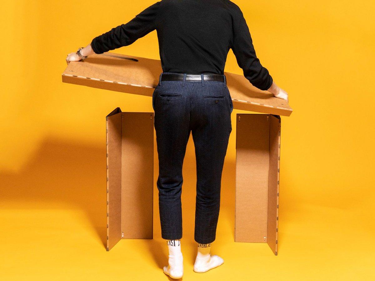 stykka cardboard desk 2