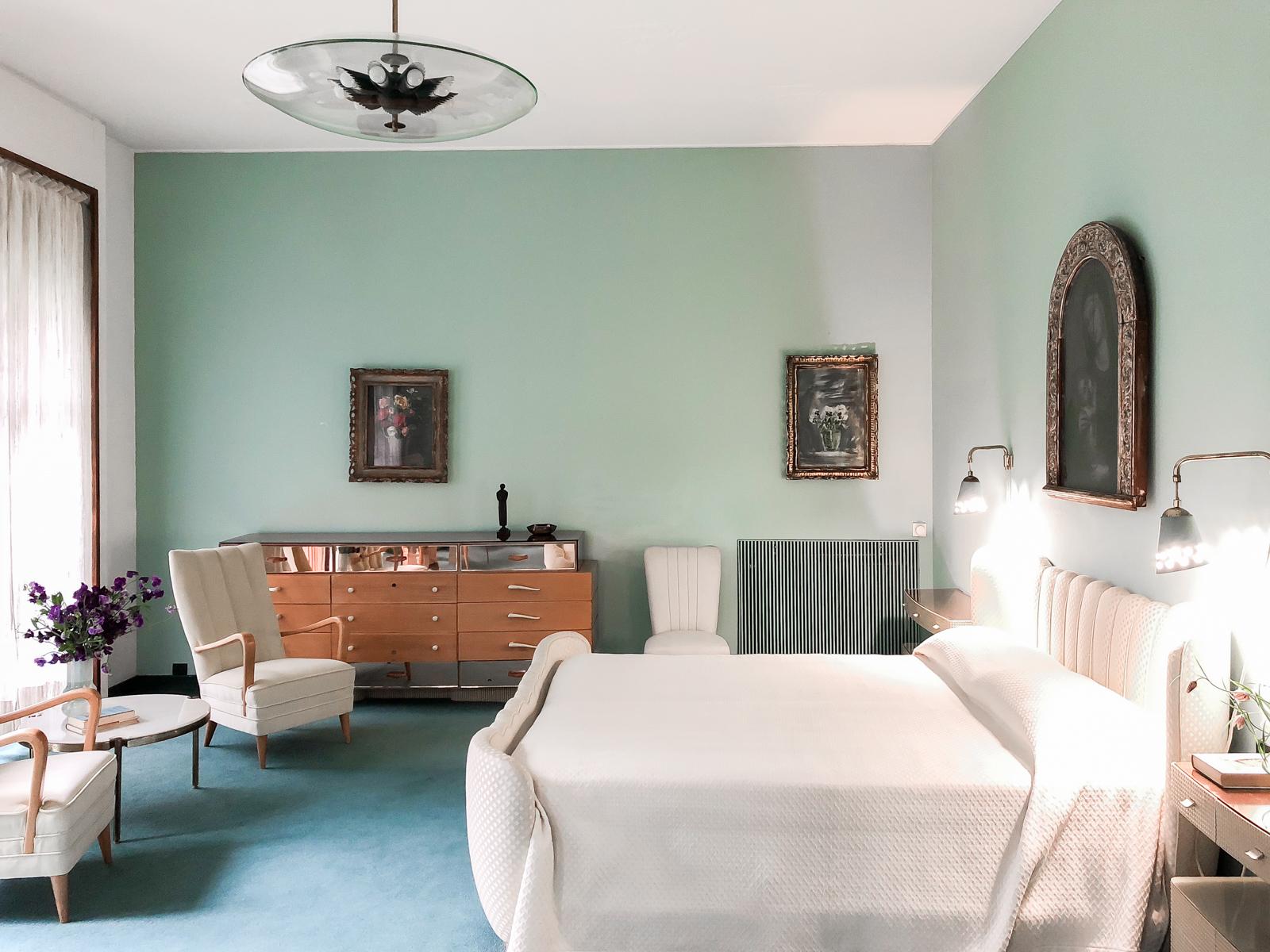 Colore azzurro, abbinamenti per le pareti - Foto