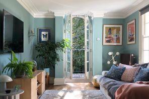 Azzurro, il colore rilassante che piace ai decoratori