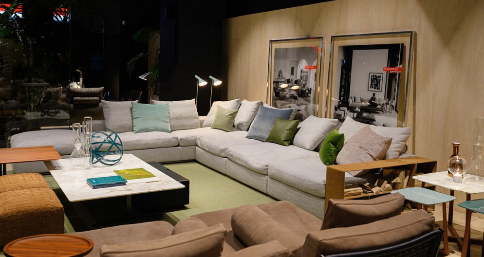 Flexform 60th Anniversary Event Co-Hosted with Elle Decor at NYC Flexform Showroom