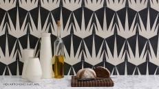 cementine-cucina-Popham hex artichoke-livingcorriere