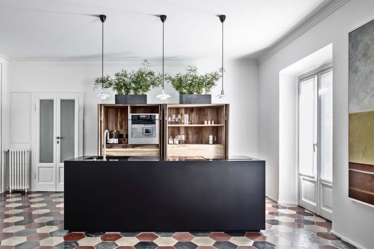 Cementine in cucina: 20 idee per pavimenti e pareti  - Foto