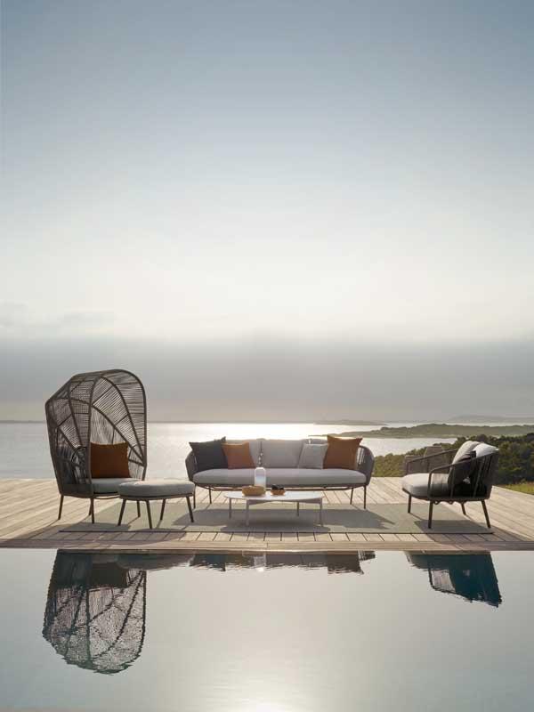 divano giardino design dedon