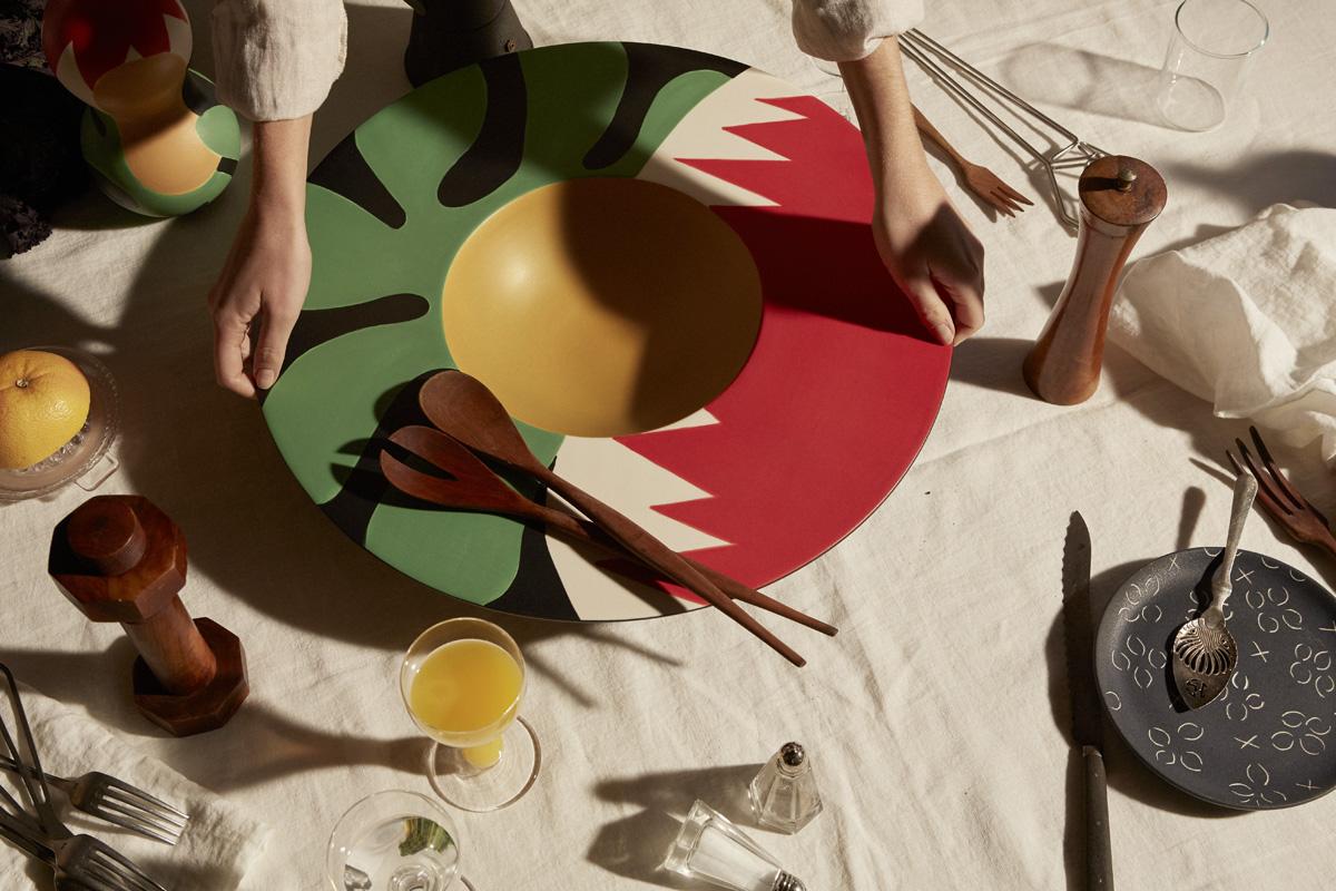 piatti-decorati-Collection de céramiques La Musique par Maison Matisse © Alice Cuvelier 3