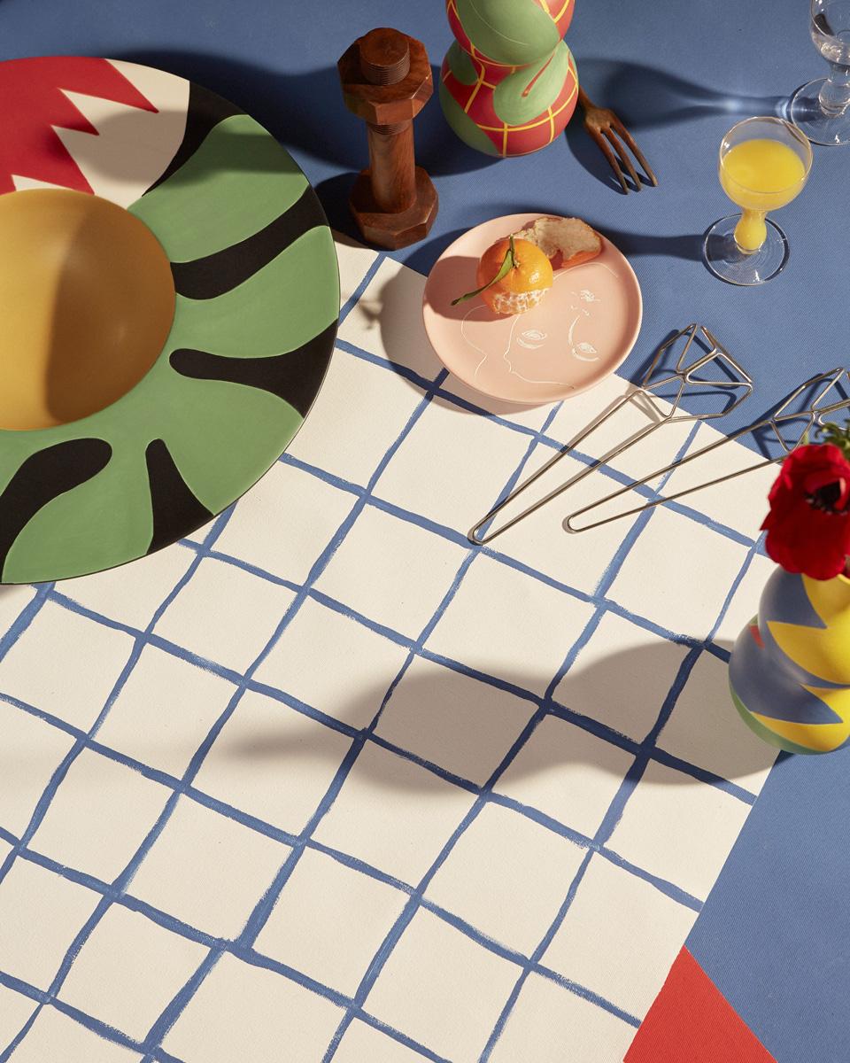 piatti-decorati-Collection de céramiques La Musique par Maison Matisse © Alice Cuvelier 9