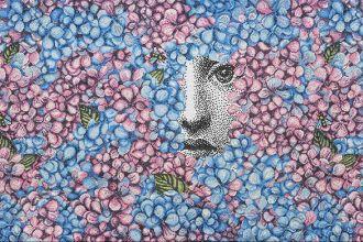 Bisazza Mosaico Collection_pattern ORTENSIA_design Fornasetti_still life