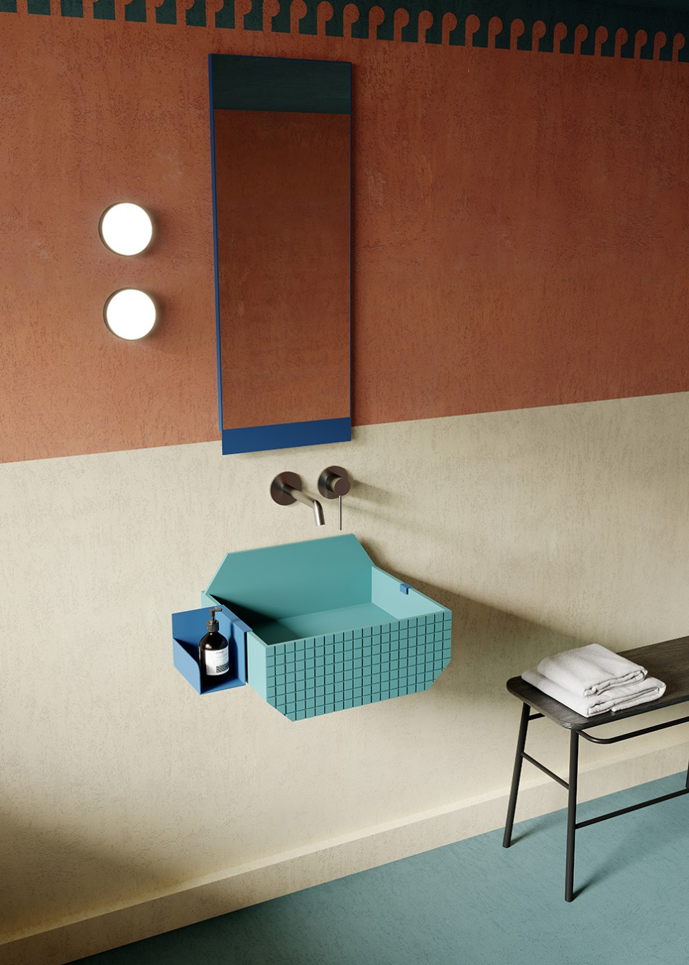 bagno-piccolo-colore-8. sanitari-colorati-lavabo-01-Frieze_A-living-corriere