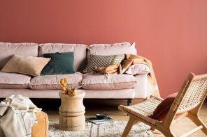 Color corallo, good vibes sulle pareti di casa