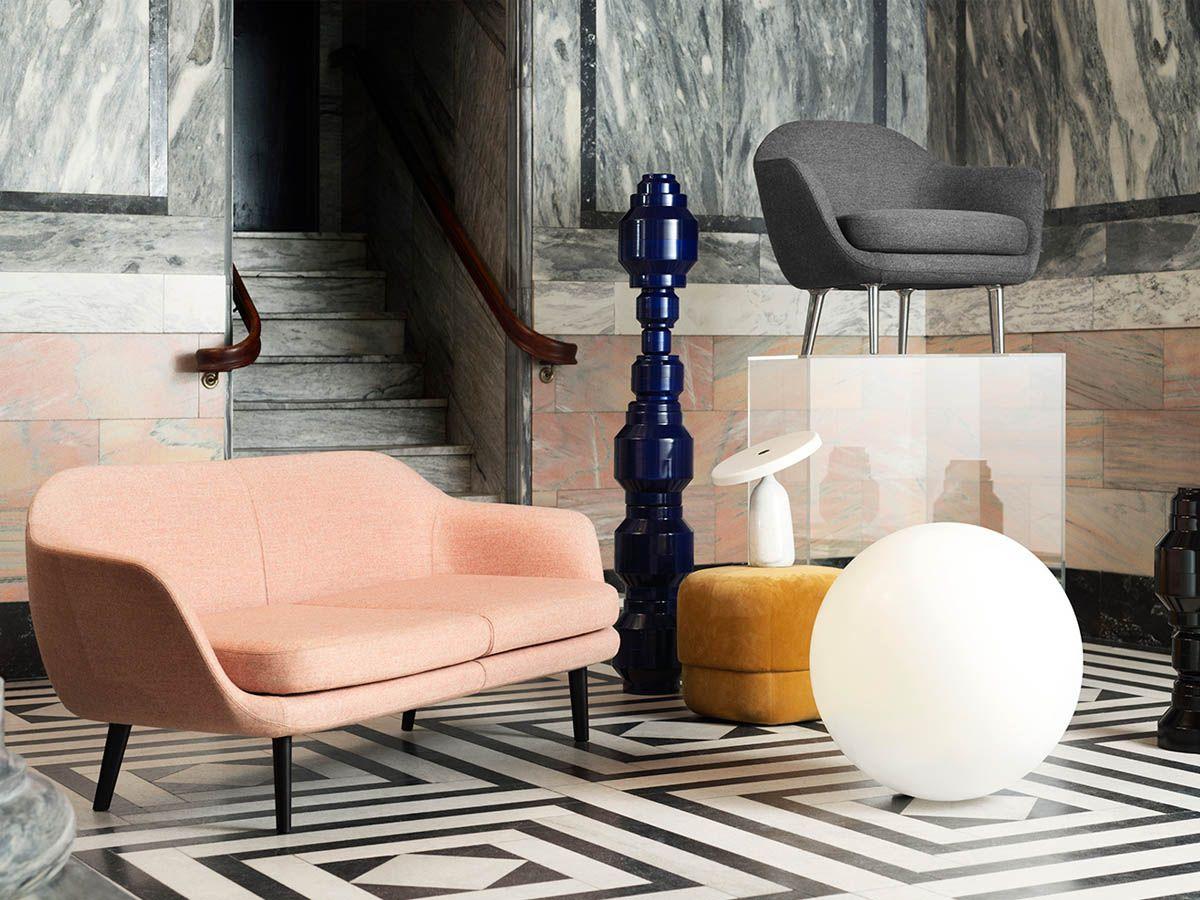 divano a due posti design scandinavo