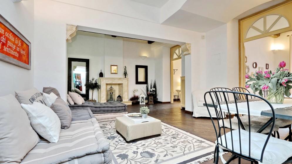 12. Un appartamento a Roma prenotabile sul portale italianway.house _Corso Charme
