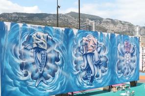 La street art colora Montecarlo