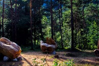 Alessandro Pavone - Le Mani, Ledro Land Art, 2012_ph Massimo Vicentini 01