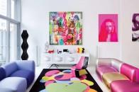 salotto moderno colore
