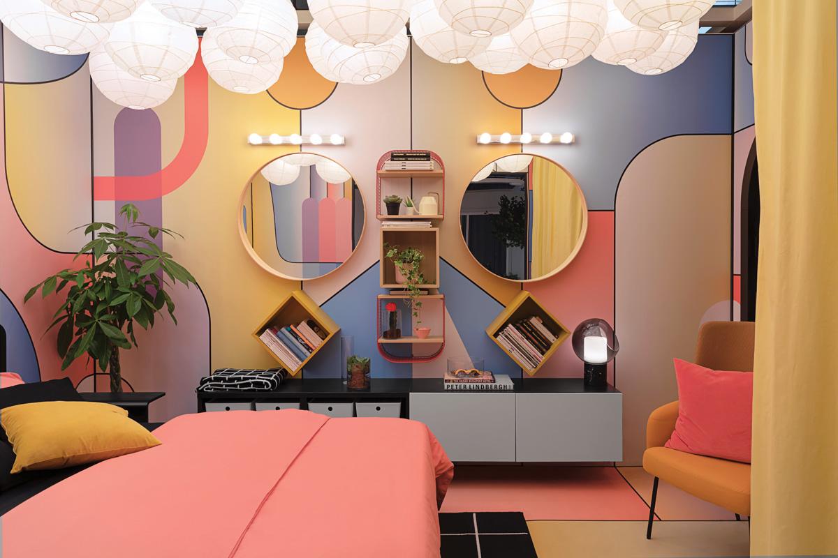 Ikea E La Camera Da Letto Di Elena Salmistraro Un Ispirazione Eclettica