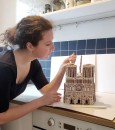 dolci-architettura-Notre Dame gingerbread house-livingcorriere