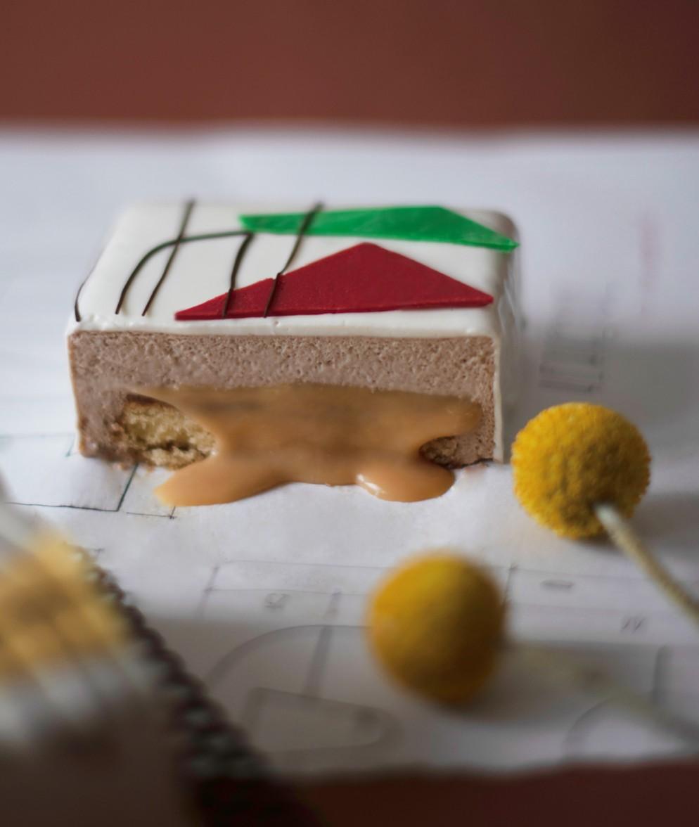 dolci-architettura-corbusier cake inside-livingcorriere