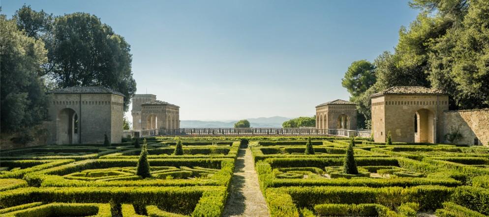 VILLA IMPERIALE - PESARO (ITALIE).  LE TROISIEME JARDIN