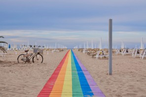 Rimini, c'era una volta l'ombrellone