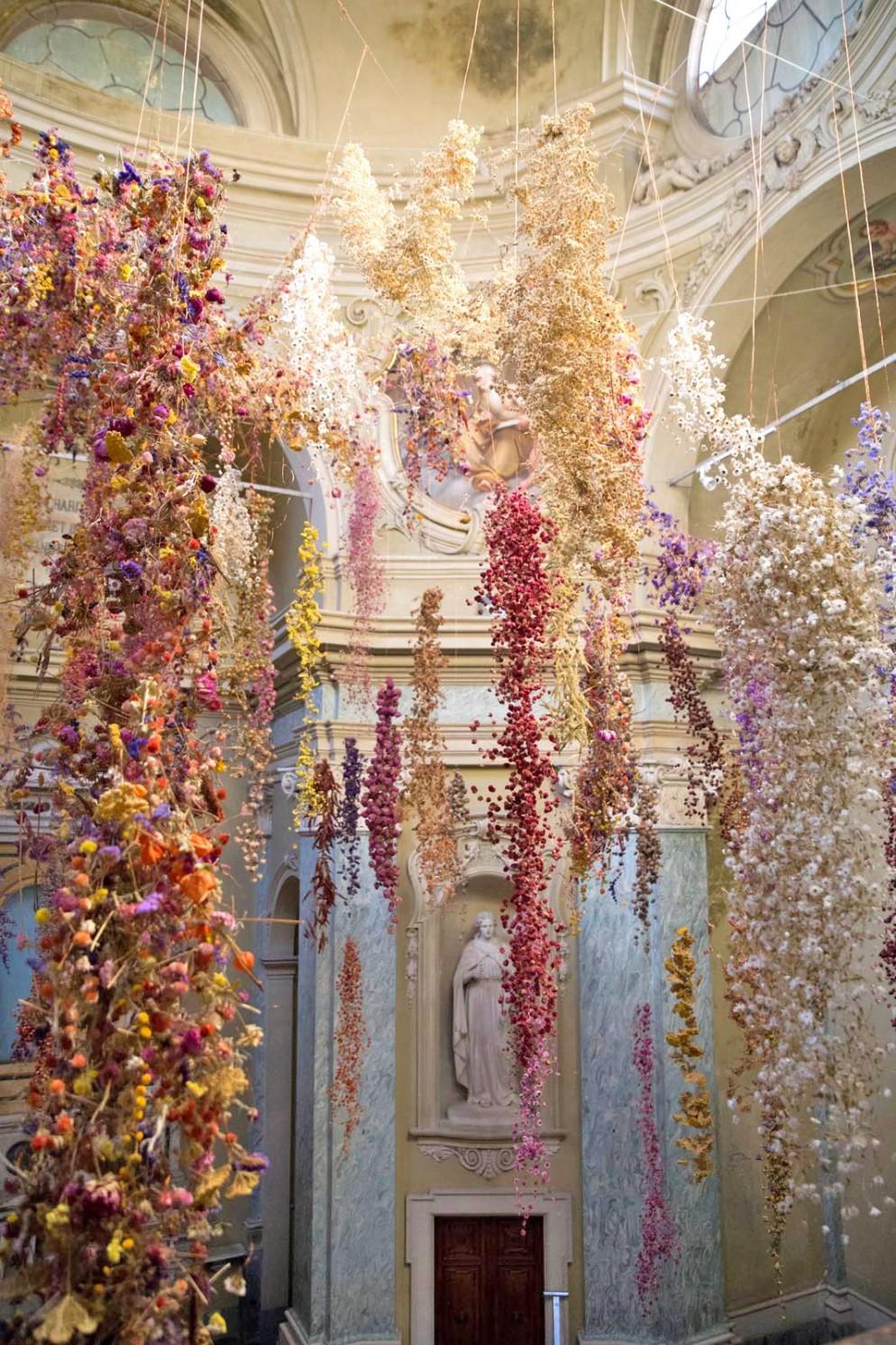 l'installazione Florilegium a Parma | Foto 1 | LivingCorriere