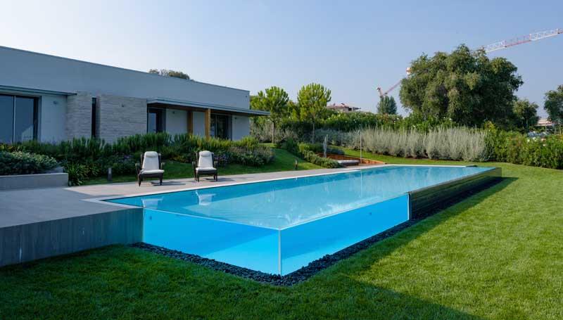 piscine da giardino  castiglione Crystal bordo tr 2