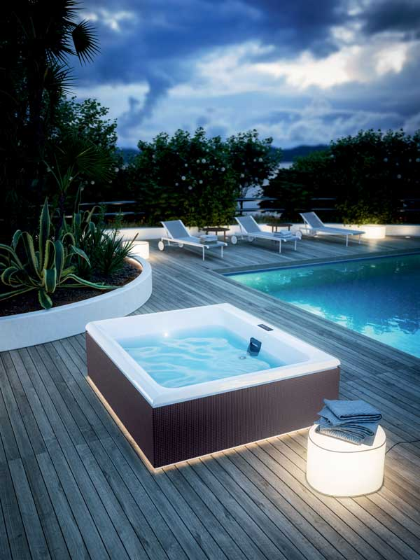 piscine da giardino glass 175x200