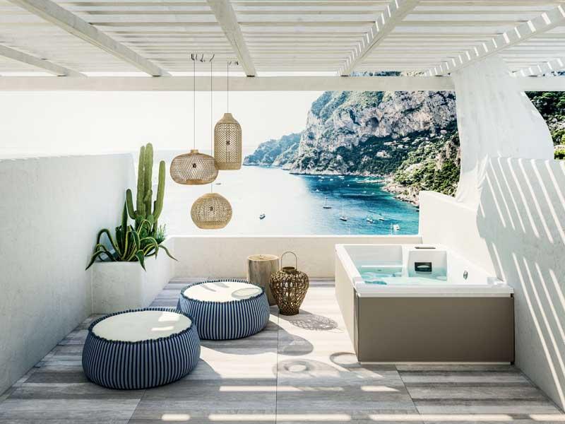 piscine da giardino glass 185x120