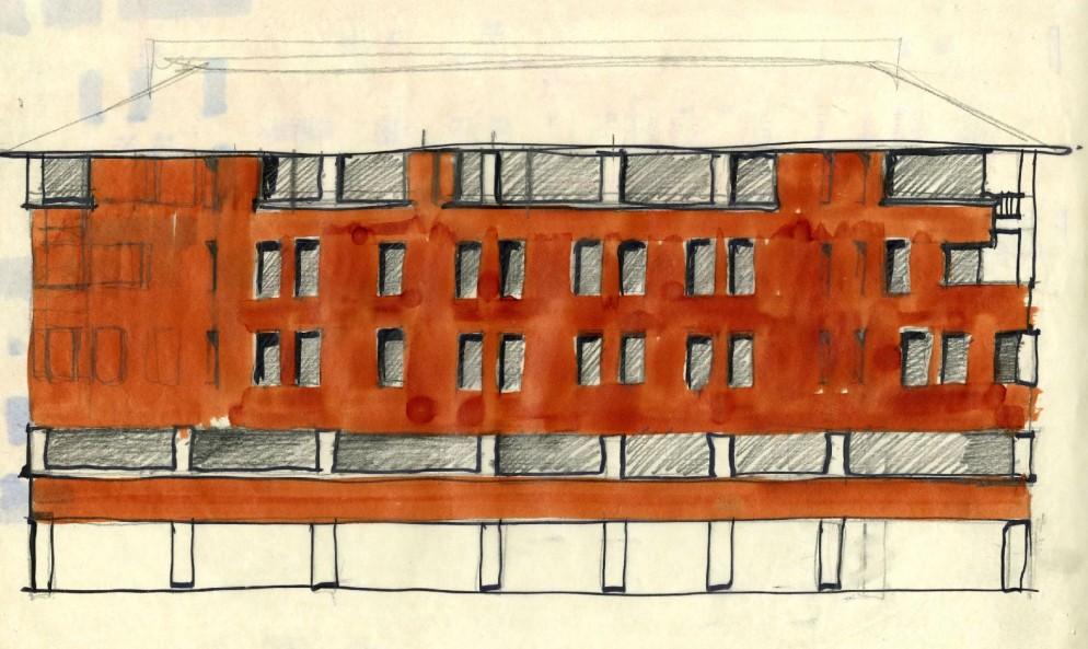 09 Casa in Piazza San Marco 1969-71_Courtesy archivio.magistretti.it