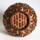 12 Thomsen Gallery _ Detail of Bamboo basket by Shiraishi Hakuunsai I