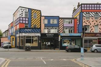 Foto Tim Crocker e Wood Street Walls
