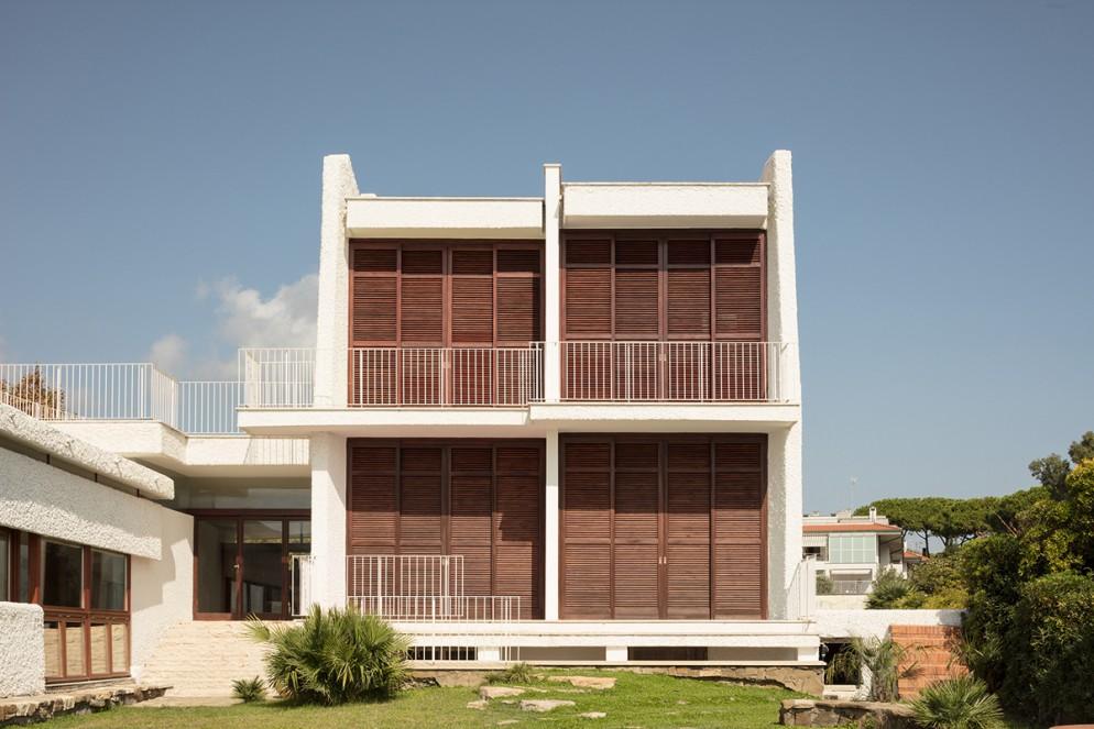 5 - Vista della torretta delle camere