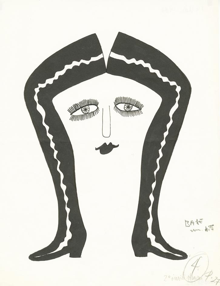Brunetta, Inviti strani,1967