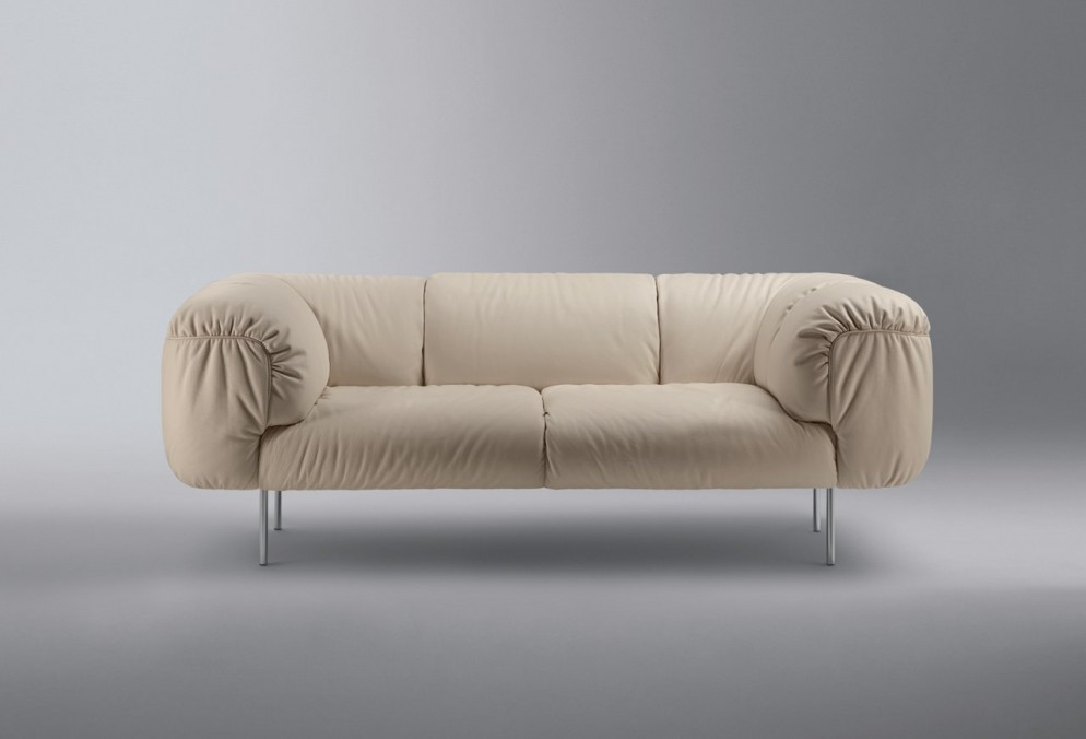 Bebop Sofa by Cini Boeri for Poltrona Frau (2010)