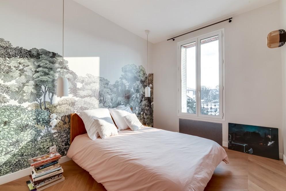 decorare parete dietro letto