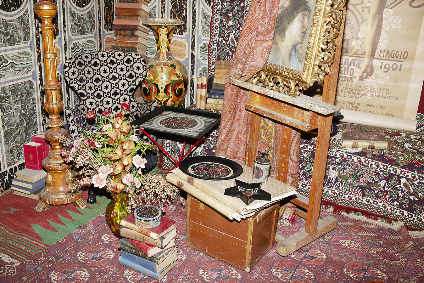 La collezione Souvenir from Rome di Gucci Décor - Foto