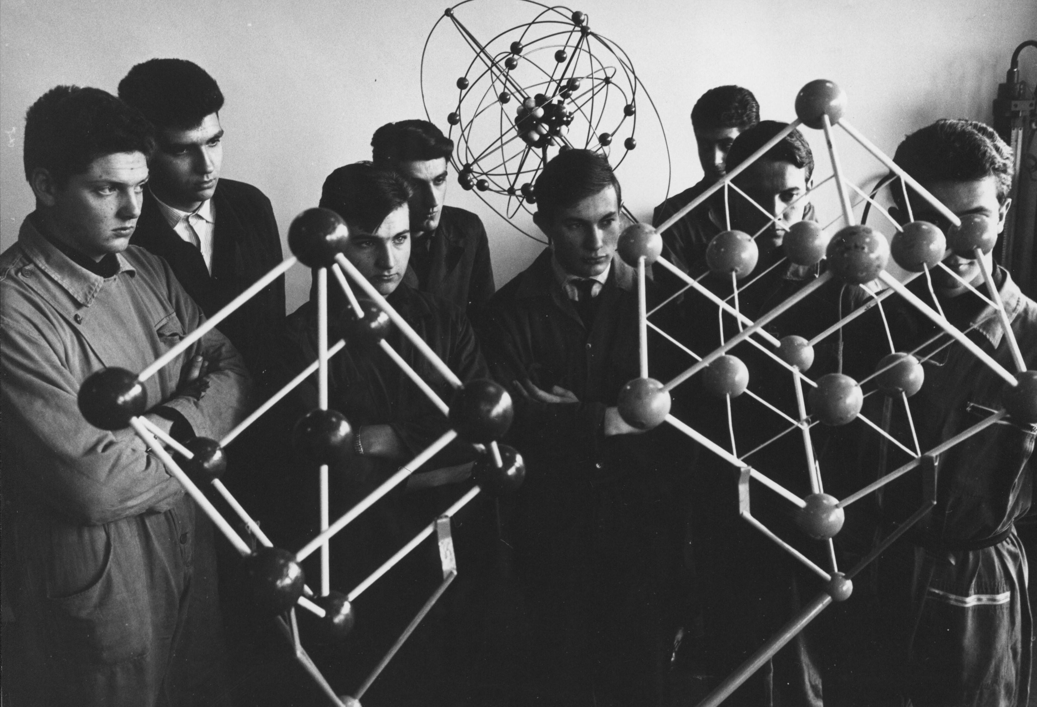 Mostra Gianni Berengo Gardin, Laboratorio di Meccanica Olivetti, Ivrea