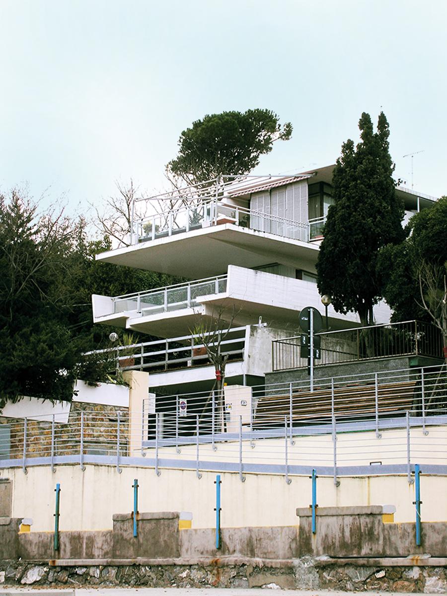 Villa Cardon -Archivio Fondazione Michelucci, Architetture del Novecento in Toscana, Ph. Andrea Aleardi