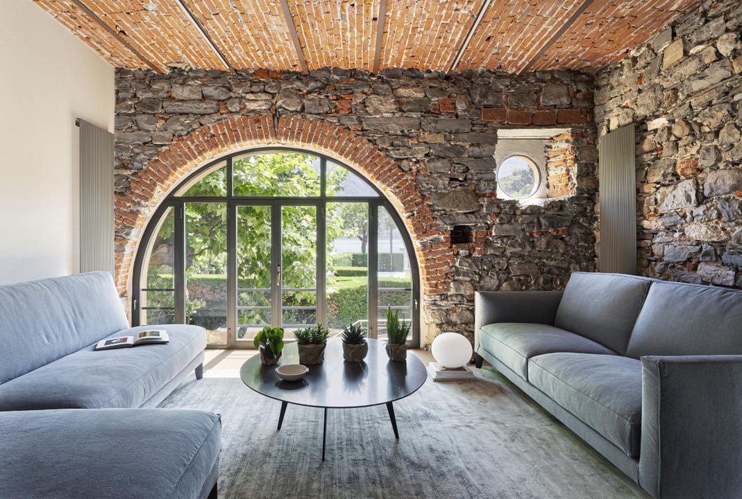 La finestra sul lago: a Como una casa con vista in stile contemporaneo - LivingCorriere